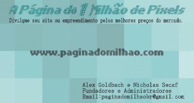 A PÁGINA DE UM MILHÃO DE PIXELS