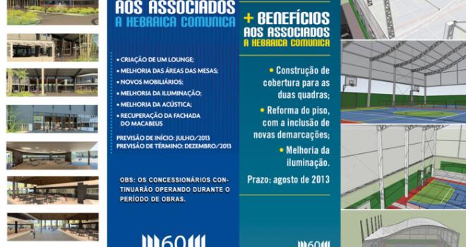 QUADRAS DE TÊNIS COBERTAS E A NOVA PRAÇA CARMEL