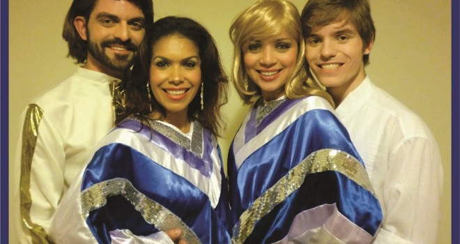 ABBA ON STAGE – TRIBUTE GOLD BAND