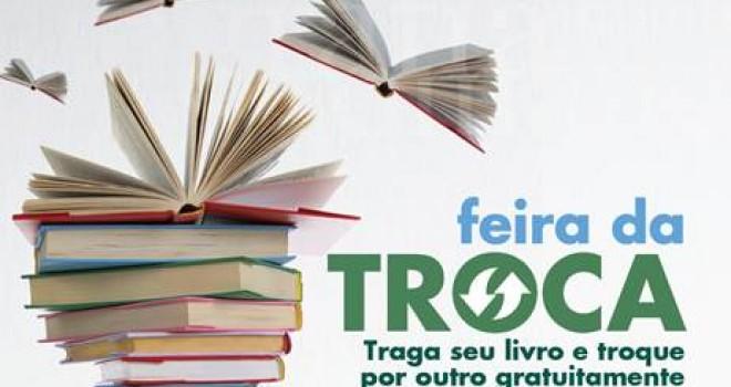 FEIRA DE TROCA DE LIVROS E FAMILY TIVOLI
