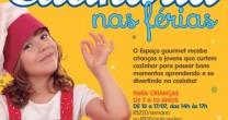 FÉRIAS: CULINÁRIA PARA CRIANÇAS E JOVENS E A SAÍDA PARA A EXPOSIÇÃO DE JOAN MIRÓ