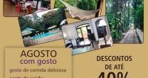 AGOSTO, COM GOSTO… NO SPA SÃO PEDRO