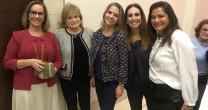 LEILA STERENBERG PARTICIPA DA ABERTURA DA CAMPANHA ANUAL DA NA'AMAT SP