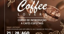 COFFEE LOVERS E PALESTRA MOTIVACIONAL