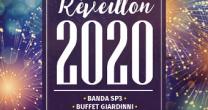 O RÉVEILLON 2020 SERÁ COM O BUFFET GIARDINNI E A BANDA SP3