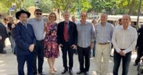 INAUGURADA A PRAÇA REBE DE LUBAVITCH NO LEBLON – RIO