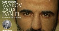 HEBRAICA ROMPE BARREIRAS E REALIZA LIVE SHOW COM ATOR ISRAELENSE DA SÉRIE FAUDA.