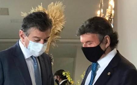 CONIB PROMOVE ENCONTRO DE PRESIDENTE DO STF, LUIZ FUX, COM LIDERANÇAS DA COMUNIDADE