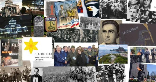 BANDEIRAS SOBRE O GUETO DE VARSÓVIA – 78 ANOS DO LEVANTE – 19 DE ABRIL DE 1943 – POR ISRAEL BLAJBERG